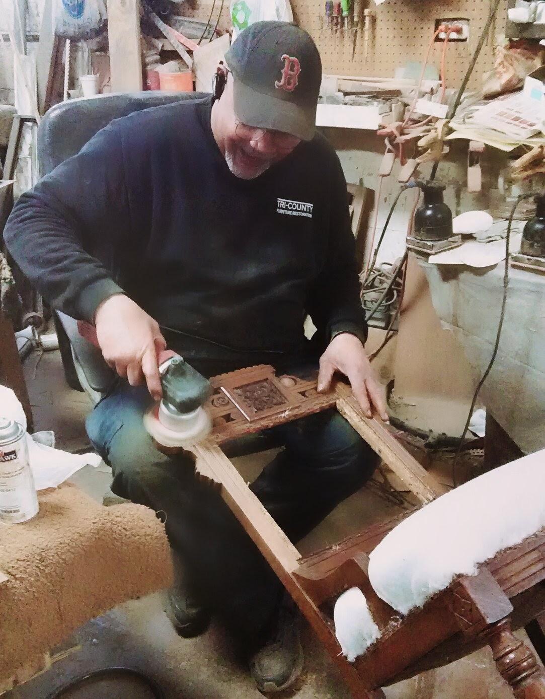Cincinnati S Leading Furniture Repair Shop Credits Talented