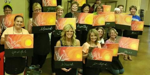 Make your next adult birthday party a painting party with for Paint night home parties