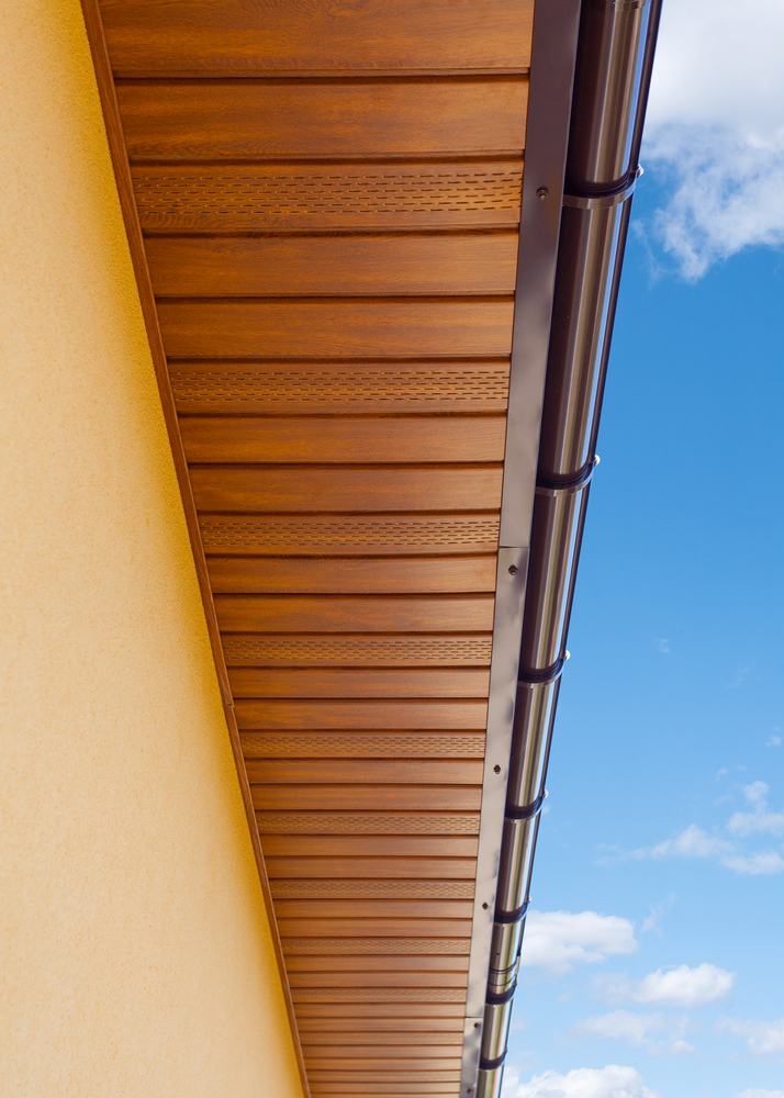5 types of gutters which is right for you graff for Painting aluminum gutters