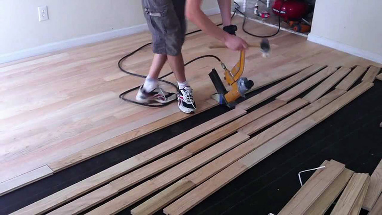 Coast floors weighs pros cons of diy vs professional for Wood floor installation