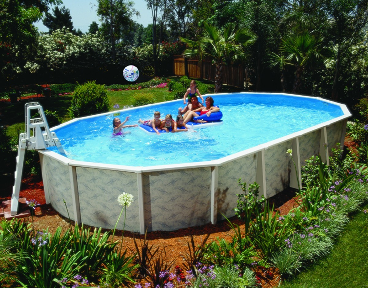 how to take apart an above ground swimming pool