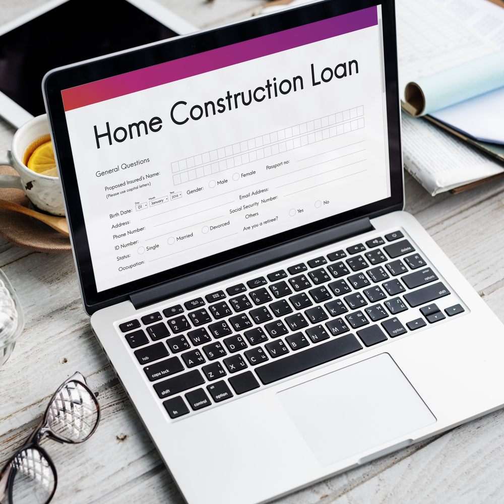 Financing home construction project