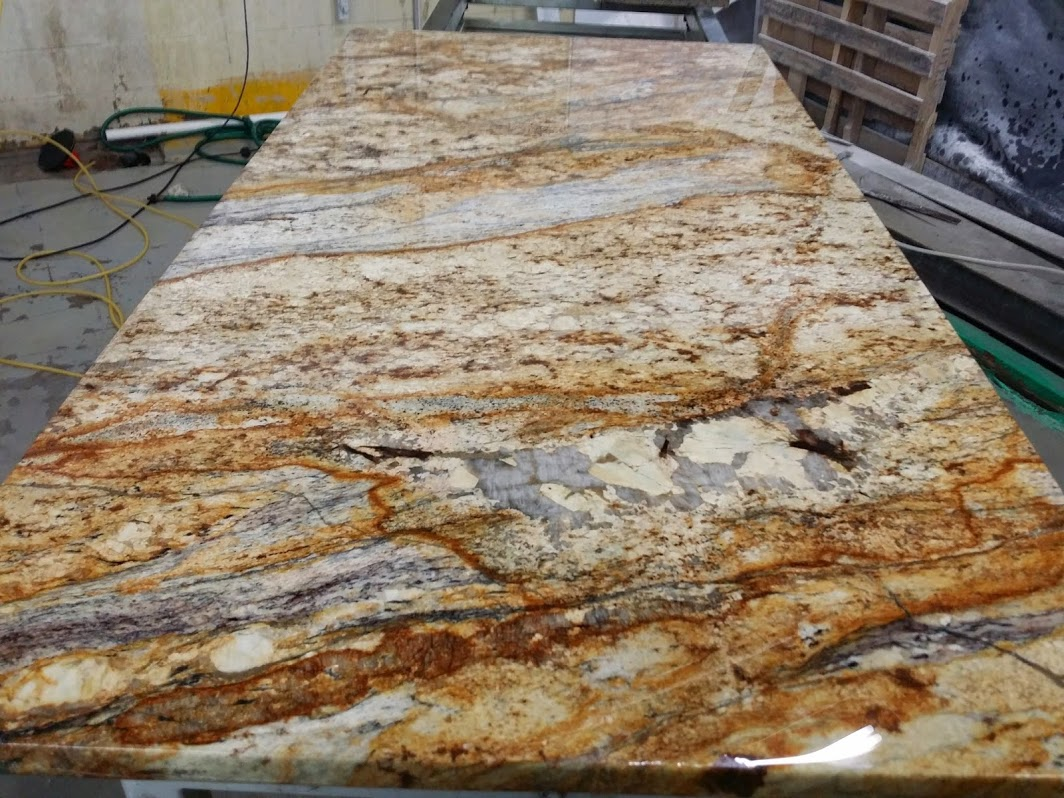 Warm Kitchen Designs Get Gorgeous Exotic Granite Countertops From Lay It