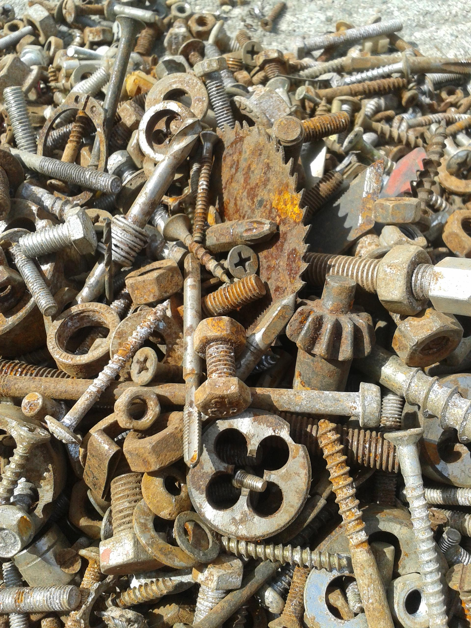 Steel Scrap Metal : When you recycle it can benefit more than just the earth
