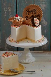 Maggie Moo S Birthday Cake Ice Cream