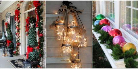 This spectacular holiday door makeover concept can easily be extended to the garage where the inspiration can be expressed on a grander scale. & Spectacular Winter Front Door Makeover: Inviting Front Entrance ...