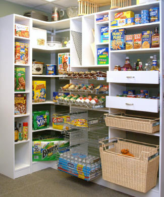 custom pantry designs from cincinnati closets are the ultimate