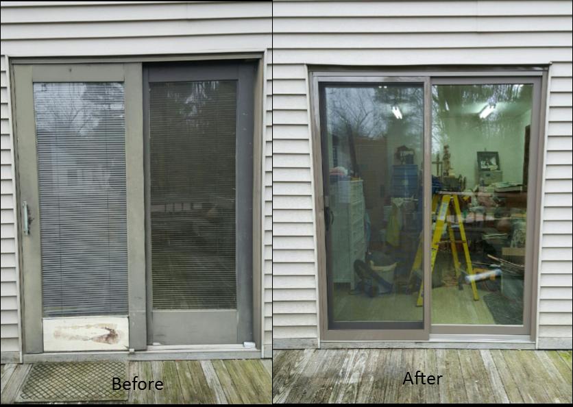 Andersen Patio Door Installed By Jfk Window And Door In Finneytown