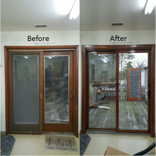 Andersen Patio Door Installed By Jfk Window And Door In