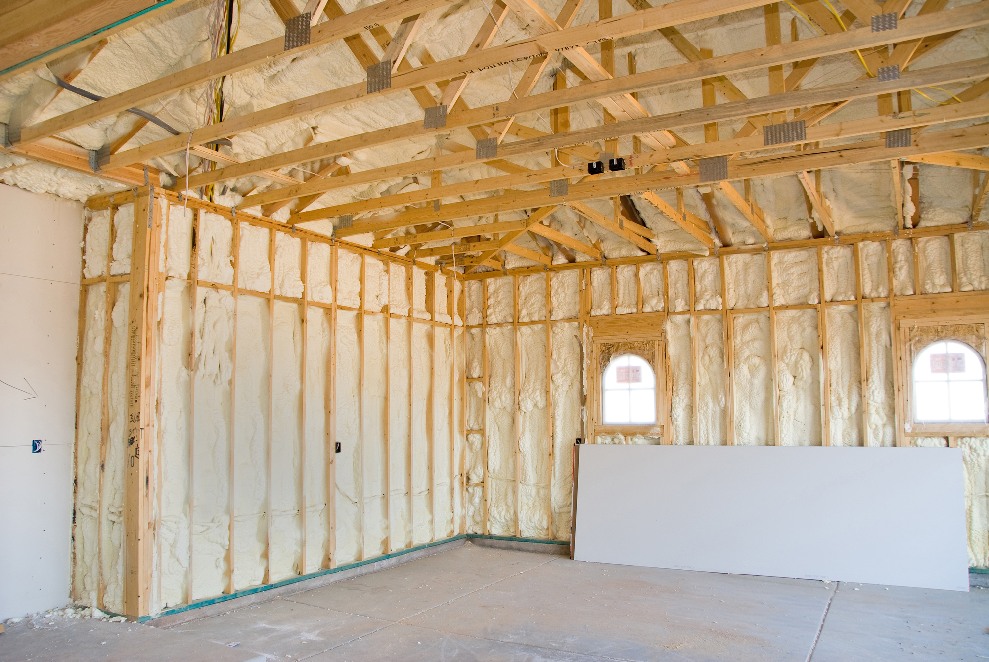How to turn your pole barn kit into a guest house dixieland metals of alabama llc dothan - How put cement foundations ceilings ...