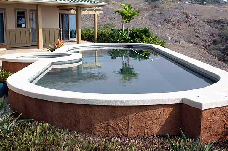 Should you install an above ground pool captain cook pool for Above ground pool installation