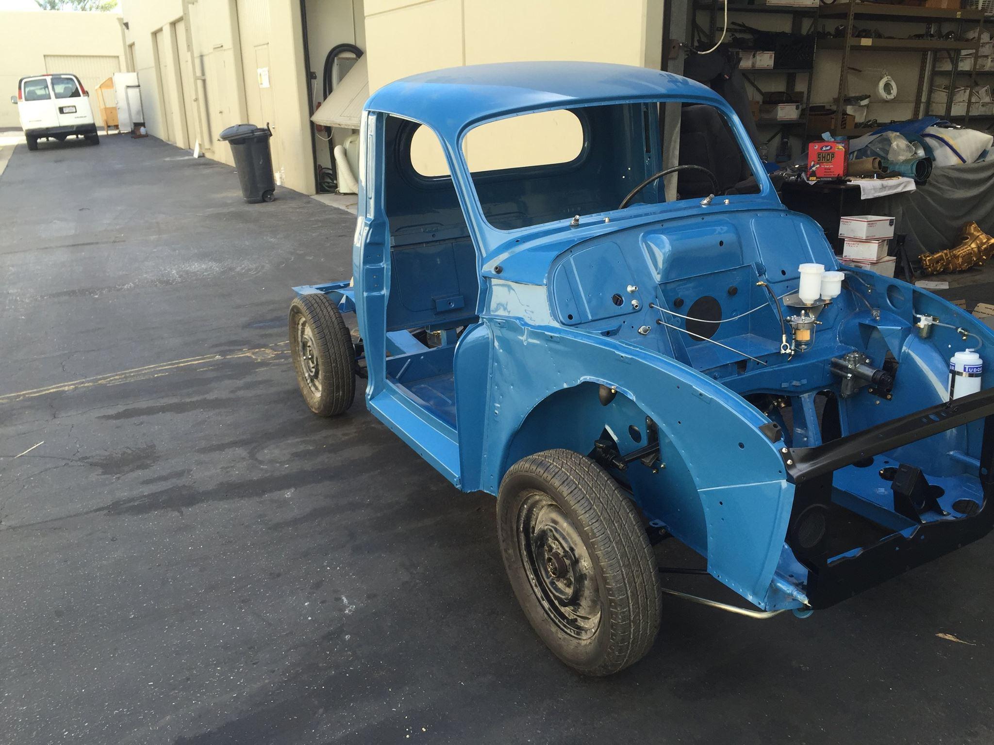 """Meet """"Rip Van Winkle"""": The Morris Minor Pickup Now Being Restored at ..."""
