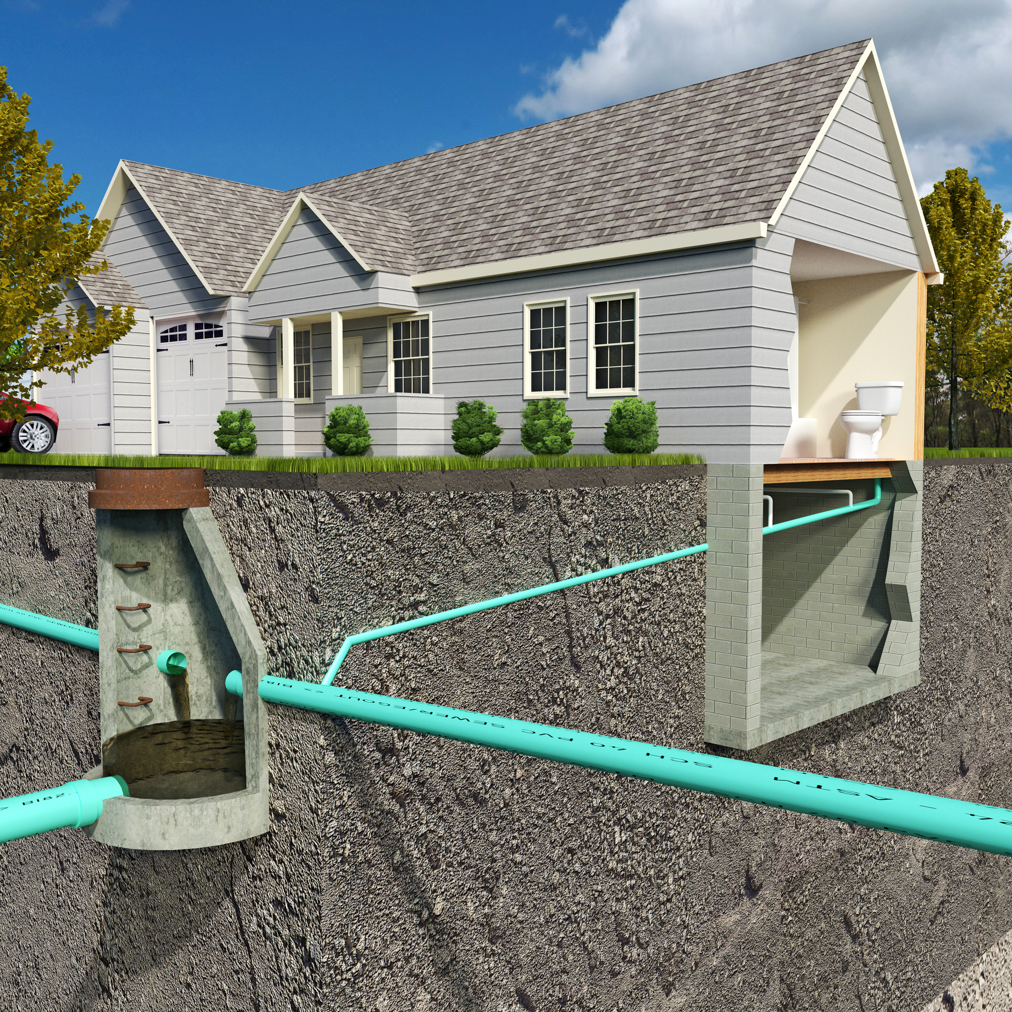 A guide to septic systems for danielsville homeowners for Septic tank designs