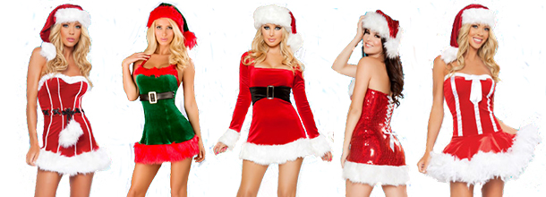 Sexy Christmas in July costumes - Celebrate Christmas In July With Santa Costumes From Economy Party