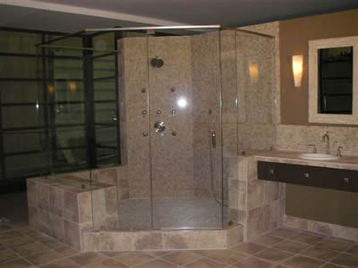 Shower glass doors can be made out of ordinary clear glass or you can add  your own unique touch by utilizing new patterns that you won't find  anywhere else.