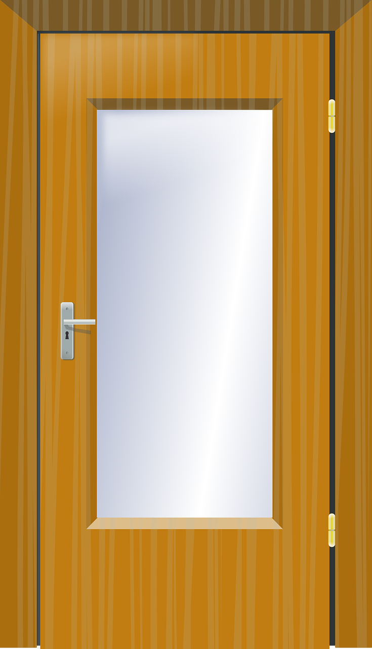 Cartoon classroom door - Storm Doors