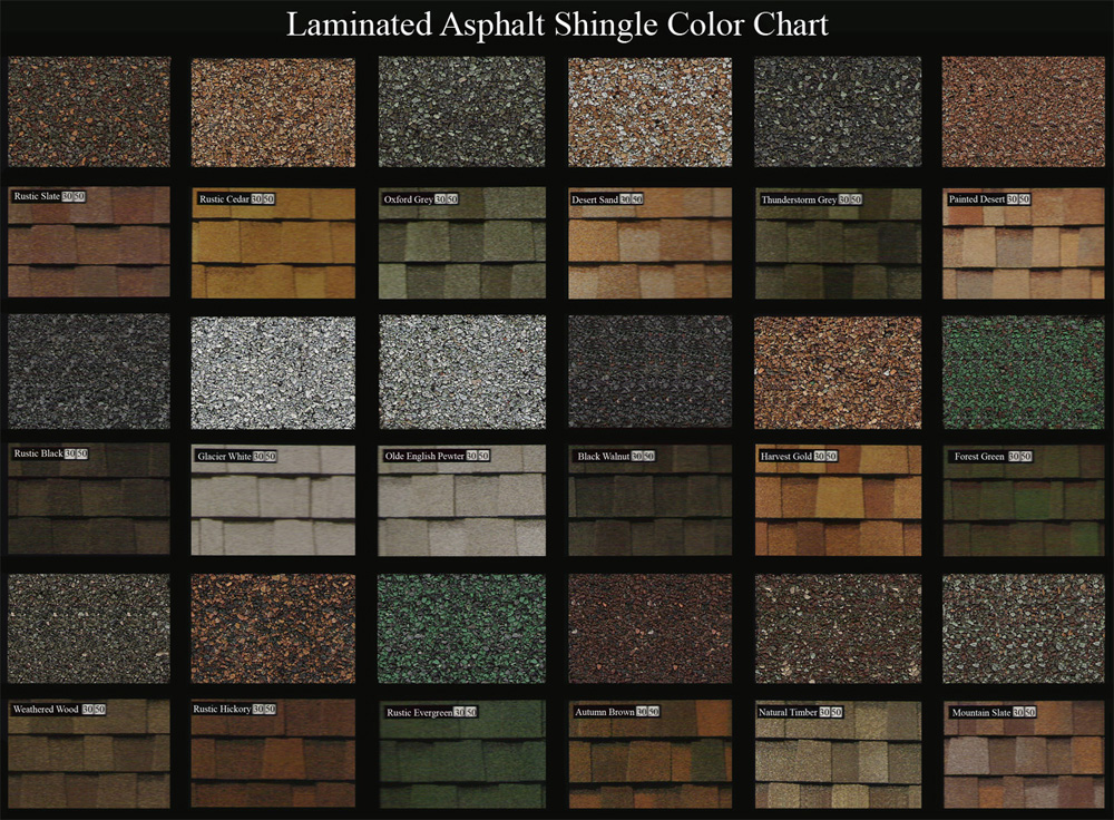 Altmann roofing construction offers options for new for Roofing colors how to choose
