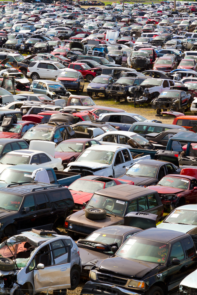 Need a Car Part? Tips for Finding Used Auto Parts at a Salvage Yard ...
