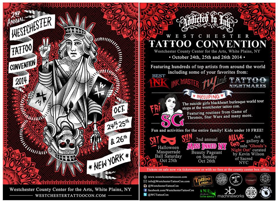 Check out upcoming tattoo convention hosted by addicted to for Upcoming tattoo conventions