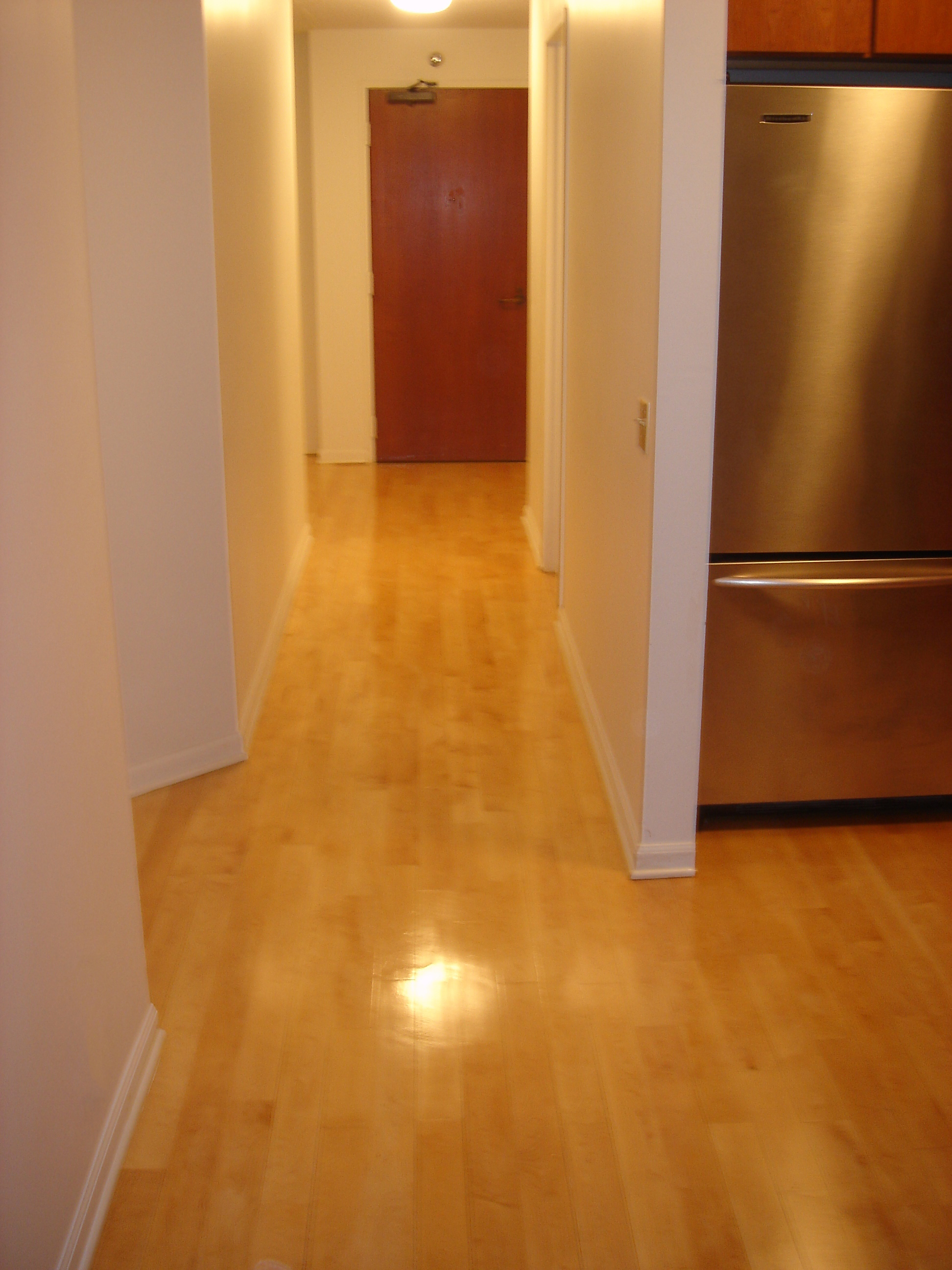 Floor Refinishing Superficial Scratches